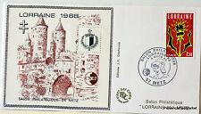 FRANCE BLOC FEUILLET CNEP SUR LETTRE LORRAINE 1988   N° 9 FDC