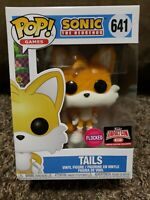 Funko Pop!!  Games Sonic The Hedgehog Tails #641 Flocked Target Con Exclusive