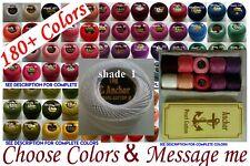 10 ANCHOR Pearl Cotton Crochet Embroidery Thread Balls £11.99. Choose. 185 Colrs