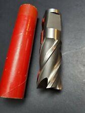 "NEW 1¼"" Cobalt End Mill Minicut International M42 4½ OAL Machinist Cutting Tool"