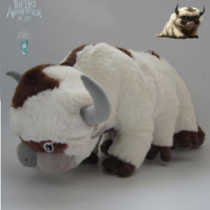 New Avatar the Last Airbender Appa /& Momo Plush Doll Stuffed Christmas Toy Gift