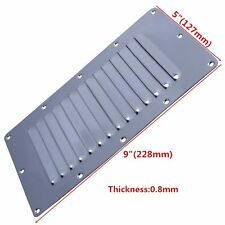Boat Stainless Steel Vent Cover Marine 13 Slots Louvered Ventilation