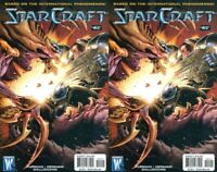 Starcraft #4 Incentive Variants (2009-2010) Wildstorm Comics - 2 Comics