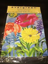 Floral Bundle with Butterfly Garden Flag!  Make an offer!