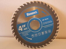 SAW BLADE for WOOD. BERENT QUALITY. 100MM.  4''