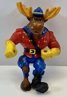 TMNT Monty Moose Teenage Turtles Vintage Action Figure Playmates 1992