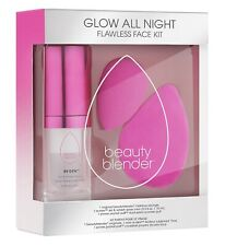 NIB BEAUTY BLENDER Glow All Night Flawless Face Set New Limited Edition $50