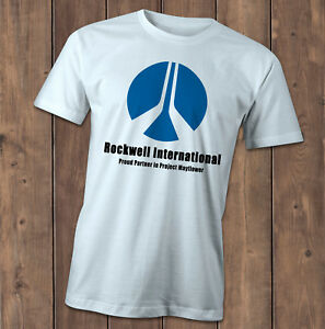 Rockwell International T-Shirt, inspired by Close encounters of the third kind