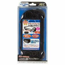 Grip cover with L2 / R2 button for PSVITA1000 Black
