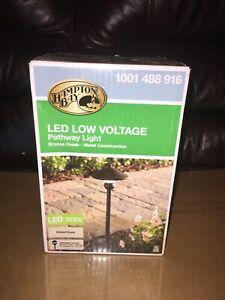 Hampton Bay Low Voltage Pathway Light