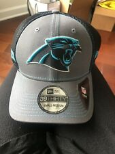 New Era 39Thirty NFL Small-Medium Carolina Panthers Hat, New With Tags