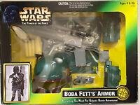STAR WARS THE POWER OF THE FORCE BOBA FETT'S ARMOR KENNER 1997