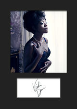 VIOLA DAVIS #2 A5 Signed Mounted Photo Print - FREE DELIVERY