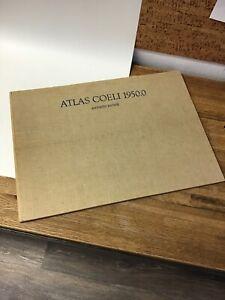 ATLAS OF THE HEAVENS Atlas Coeli 1950.0  Antonio Becvar 1962-  16 Charts KK1