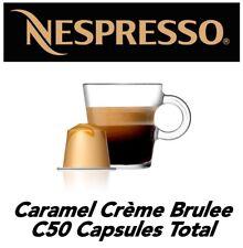 50 Caramel Crème Brûlée Nespresso Capsule (Caramel Coffee!!!)