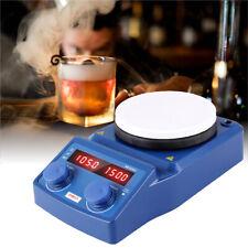 Labor Magnetrührer Mixer Stirrer Thermostat Heizung Digitale Anzeige Heizplatte