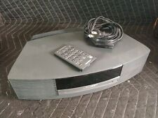 Bose Wave Music System AWRCC1 Stereo CD Player Radio Complete w Remote Grey