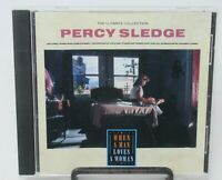 PERCY SLEDGE: WHEN A MAN LOVES A WOMAN - ULTIMATE COLLECTION MUSIC CD, 20 TRACKS
