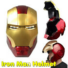 Iron Man Helmet Mask Gloves Wearable Fashion Model Figure Cosplay Props Toys US For Sale