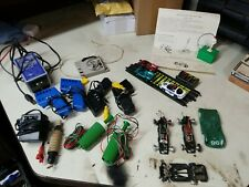 Vintage slot cars, controllers, parts, triggers Hotwheels and Tyco.