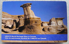 ERROR Canada 2015 UNESCO World Heritage Sites Dinosaur Park 6 Stamps Booklet MNH