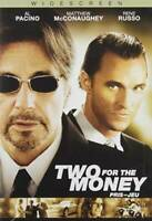 Two for the Money (Widescreen Edition) - DVD - VERY GOOD