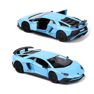 1/36 Lamborghini Aventador LP750-4 SV Model Car Diecast Toy Vehicle Collection