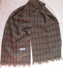 Echarpe en laine  Giorgio Armani 140 cm x 29 cm vintage scarf