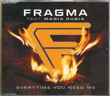 FRAGMA - everytime you need me 5 trk MAXI CD 2001