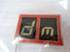 "DEPECHE MODE ""The Singles Tour 86>98""  Metal Tour Badge"