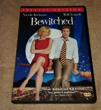 Bewitched DVD Special Edition Wide-screen Nicole Kidman Will Ferrell
