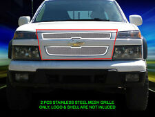 04-12 Chevy Colorado Stainless Steel Mesh Grille Grill Insert Fedar
