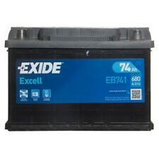 Type 082 680CCA 3 Years Wty Sealed OEM Quality Exide Excell Car Battery 12V 74Ah