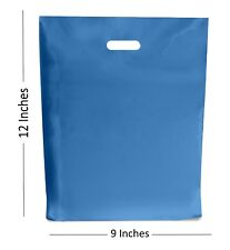 150- Azul Rey Bolsas de plástico/Regalo Tienda Boutique Bolsa ~ 22.9x30.5cm