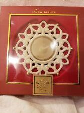 Lenox Snow Lights Snowflake Tea Light Candle Holder #6395214 New in Box