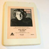 Barry Manilow One Voice 8-Track tape Works Tested Music 1979 8 track