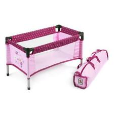 Bayer Chic 2000 652 29 Travel cot Dolls (Dots Blackberry)
