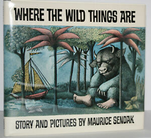 TRUE 1ST EDITION, 1ST PRINTING ~ WHERE THE WILD THINGS ARE ~ MAURICE SENDAK