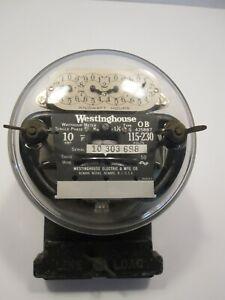 Vintage Westinghouse OB Meter, 10amp 115-230volt