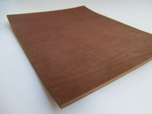 9 oz Precut Pieces Tooling Leather Square Leathercraft Cowhide. Ginger Cognac.