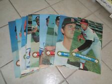 1972  TOPPS  POSTER  COMPLETE  SET OF  24   NICE  & RARE