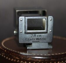 RARE Vintage Leica SUOOQ 2.8cm Hektor Lens VIEWFINDER