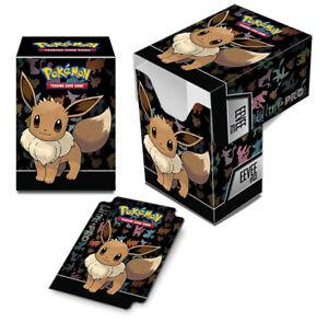 2x ULTRA PRO - Pokémon - Eevee Full-View Deck Box