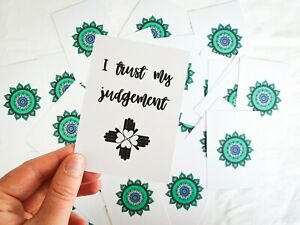 Little Box of Affirmations - Affirmation Cards / Health and Wellbeing / Positive