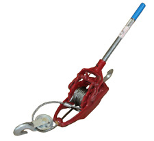 Come Along Commerical Grade Winch 3 ton/6,000 lbs of dead lift rating capacity