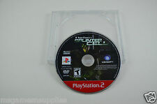 Tom Clancy's Splinter Cell - Sony PlayStation 2 PS2 . Game Disc + Case