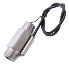 NEW Generic Magnetic Stainless Steel Flow Switch Water Sensor C Type
