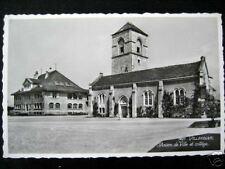 Switzerland~Suisse~VILLENEUVE Maison de Ville~college