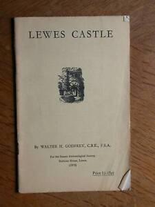 Lewes castle (château) - Sussex - Godfrey, 1970