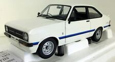 Minichamps 1/18 scale 150 084470 Ford Escort Mk2 RS 1800 RHD 1975 white